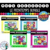 Mots fréquents: French Sight Word Puzzle Digital Games BOOM Cards BUNDLE