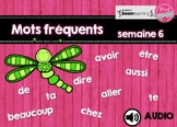 Mots fréquents / semaine 6 / BOOM CARDS