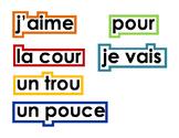 Mots pour la murale de mots
