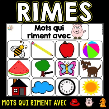 Mots qui riment  (sons in, on, eau)