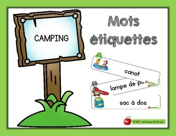 Mots étiquettes – camping