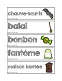 Mots-étiquettes de l'Halloween