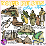 Mound Builders clip art