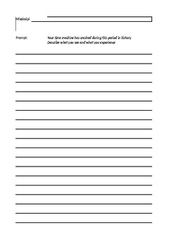 Mound Builders and Early Canadians Vocab Worksheet