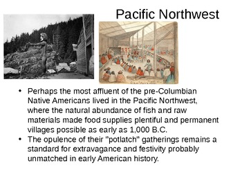 Mound Builders and Pueblos PowerPoint that goes with Notes