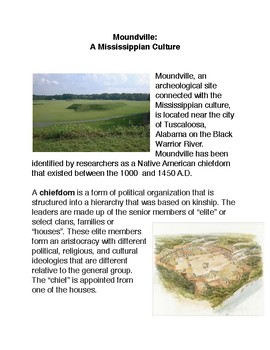 Moundville:  A Mississippian Culture