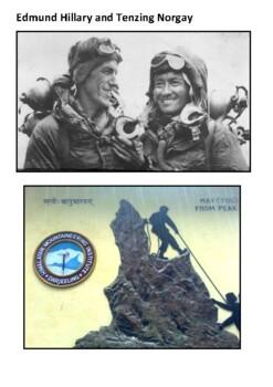 Mount Everest Handout