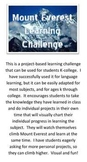 Mount Everest Learning Challenge