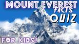 Mount Everest Quiz