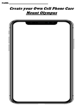 Mount Olympus CREATE YOUR OWN CELL PHONE COVER