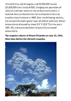 Mount Pinatubo Handout