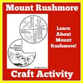 Mount Rushmore Activity   Mount Rushmore Craft   Mount Rushmore Presidents