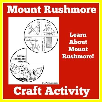 Mount Rushmore Activity | Mount Rushmore Craft | Mount Rushmore Presidents
