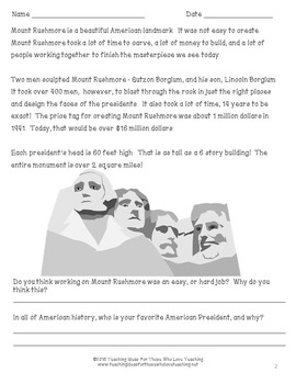 Mount Rushmore:  A Celebration of Four Great Presidents and Pop Up Book