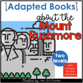 Mount Rushmore Adapted Books [ Level 1 and Level 2 ] | Ame