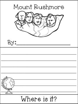 Mount Rushmore (South Dakota) Flip Book