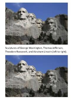 Mount Rushmore Handout
