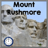 Mount Rushmore History Minute Close Reading Cross-Curricul