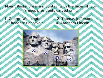 Mount Rushmore Power Point