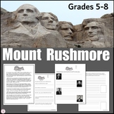 Mount Rushmore Reading Passage and Student Activity