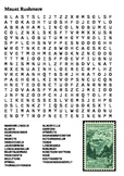 Mount Rushmore Word Search