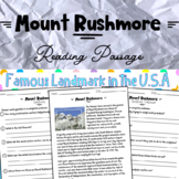Mount Rushmore part of Landmarks in the USA Distance Learning