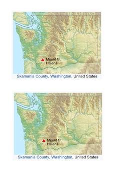 Mount Saint Helens Eruption 1980 Word Search