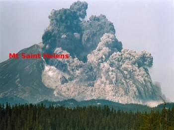 Mount Saint St. Helens - Power Point - Information History