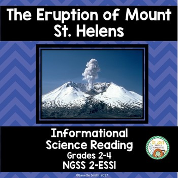 Mount St. Helens:  Science Informational Reading