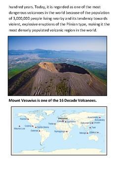 Mount Vesuvius Handout