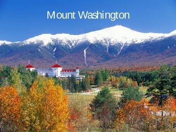 Mount Washington PPT - 2nd stop in NE Region Tour
