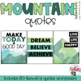 Mountain Adventure Decor - 50 Quotes
