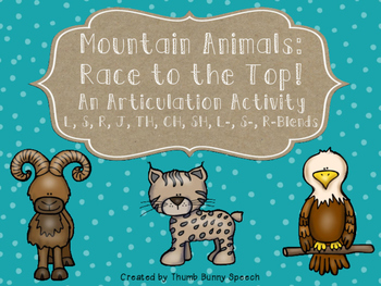 Mountain Animal Articulation: Race To The Top!
