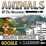 Mountain Animal Report: Research Project Organizers GOOGLE CLASSROOM