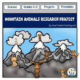 Mountain Animals Research Project With Rubric