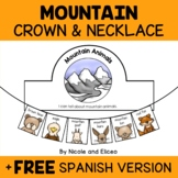 Mountain Animal Activity Crown and Necklace