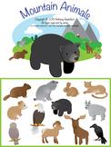 Mountain Animals Children's Clipart