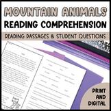 Mountain Animals Close Reading