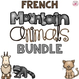 Mountain Animals French Bundle Distance Learning