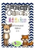 Mountain Animals Math the Room - Addition
