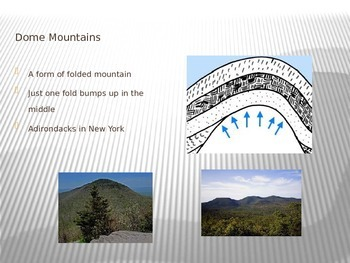 Mountain Building PowerPoint presentation
