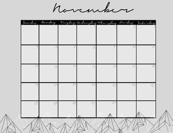 Mountain Calendars 2017-2018