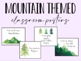 Classroom Posters - Mountain Themed