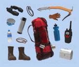 Mountain Climber Clipart - Mountaineer Climbing Digital PNG Graphics