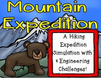 Mountain Expedition Simulation with STEM Challenges