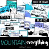 Mountain Everything Bundle   Mountain Theme   Mountain Decor