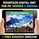 Mountain Habitats Digital Activities for Google and Seesaw