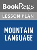 Mountain Language by Harold Pinter   Lesson Plans