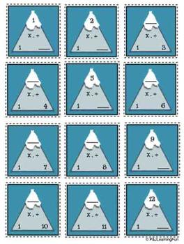 Mountain Mania (Multiplication & More)
