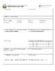 Mountain Math 1-Page Graphic Organizer - Sixth Grade